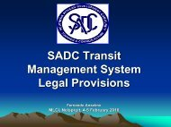 Transit Policy, Risk Management and Procedures - MCLI