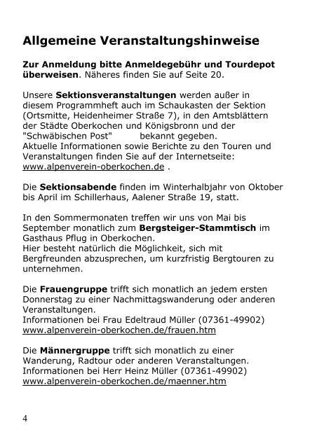 September 2012 - Deutscher Alpenverein e.V. Sektion Oberkochen