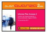 Programa de Centros del Conocimiento - Plan Avanza