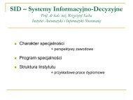 SID - Instytut Automatyki i Informatyki Stosowanej