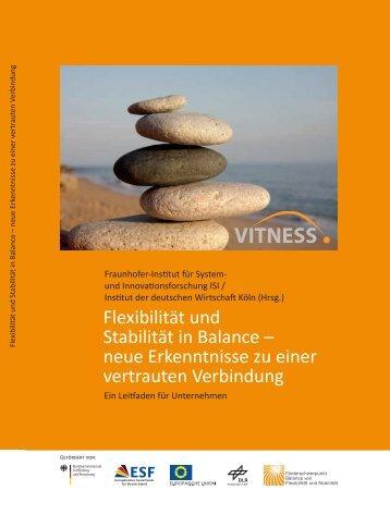 Flexibilität und Stabilität in Balance – neue Erkenntnisse zu ... - IfaA