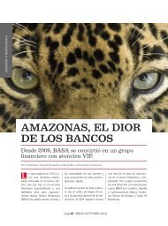Amazonas El Dior de los Bancos - Ekos Negocios