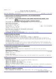 página: 1/5 Ficha de dados de segurança Em ... - Watson-Marlow