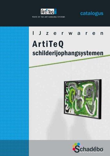 Catalogus ArtiTeQ mei 2013 deel 1 - Schadebo