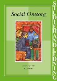 Studiehandledning Social Omsorg - Sanoma Utbildning
