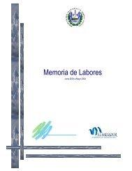 Memoria de Labores 2004 - Ministerio de Medio Ambiente y ...