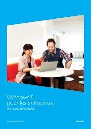 Windows 8 pour les entreprises - SoftwareONE
