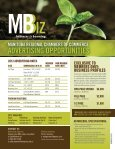 MBIZ Rate Card 2012 - Manitoba Chambers of Commerce - Page 2