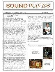 Soundwaves January 2007 - Vintage Radio and Phonograph Society