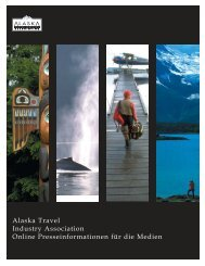 ATIA General Press Kit GERMAN.indd - Travel Alaska