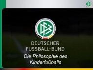 Die Philosophie des Kinderfußballs - FairPlayLiga