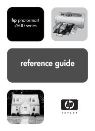 reference guide - Hewlett-Packard