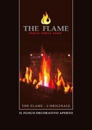 THE FLAME - L'ORIGINALE IL FUOCO DECORATIVO APERTO