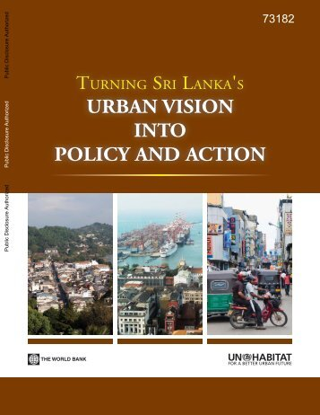 Turning Sri Lanka's Urban Vision into Policy and Action - UN HABITAT
