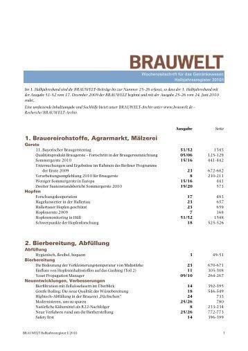 2010 - Fachverlag Hans Carl - Fachverlag Hans Carl GmbH