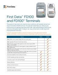 Internet Payment Gateway User Guide First Data Virtual Terminal