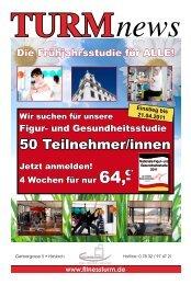 50 Teilnehmer/innen - Fitnessstudio Fitness Turm in Haslach