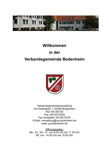 Ortsgemeinde Bodenheim - VG Bodenheim