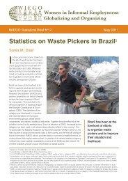 Statistics on Waste Pickers in Brazil - WIEGO