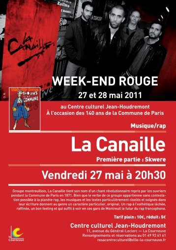 Week-end rouge - Courneuve