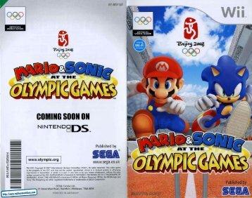Mario & Sonic at OG - Power Sonic