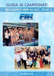 GUIDA AI CAMPIONATI - Federazione Italiana Nuoto