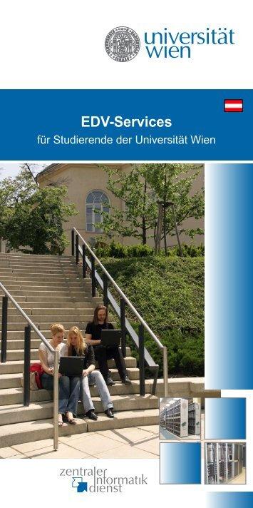 EDV-Services - Zentraler Informatikdienst - Universität Wien