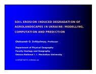 modelling, computation and prediction - NEESPI