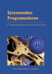 Systemnahes Programmieren C Programmierung unter ... - Passau