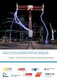 Wachstumsinitiative Berlin - Berlin.de