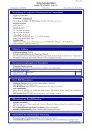 Sicherheitsdatenblatt NC 118 - UZIN