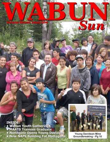 Wabun Sun Volume 11 Issue 1 - wabunsun.com