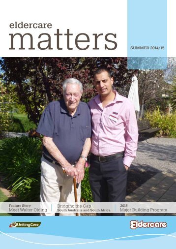 Eldercare Matters Newsletter - Summer 2014-15