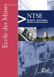 NTSE - Ecole des mines de Nantes