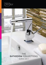 THE BATHROOM COLLECTIONS - Pegler Yorkshire