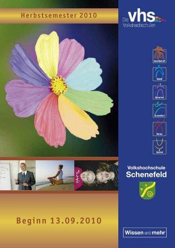 Gesundheit und Fitness - VHS Schenefeld