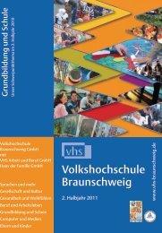 Volkshochschule Braunschweig - Deutsches Institut für ...