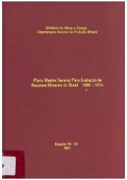 Plano Mestre Decenal para Avaliação de Recursos Minerais do ...