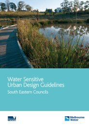 Water Sensitive Urban Design Guidelines - Clearwater