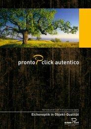 Pronto Click Autentico Prospekt - Naturo Kork AG