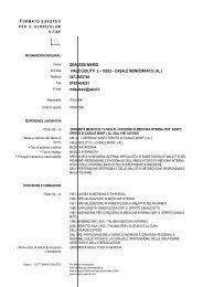 DEALESSI MARIO VIALE GIOLITTI 2 – 15033 – CASALE ... - ASL AL
