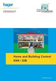 Home and Building Control KNX / EIB