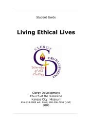 Living Ethical Lives - USA / Canada Region
