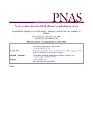 Polymeric coatings that inactivate both influenza virus and ...