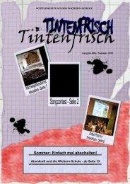 kann die Ausgabe Nr. 6 - Wichern-Schule