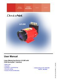 Operating Manual - TR Electronic