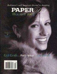 Gilah Press + Design: Paper Doll Magazine - December 2005