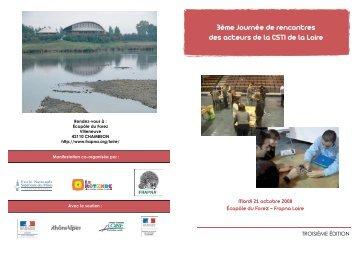 3ème journée de rencontres des acteurs de la CSTI de la Loire