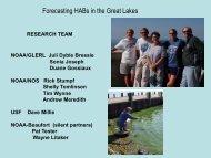 Development of an Experimental HAB Bulletin for Lake Erie