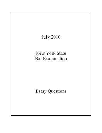 ny bar exam essays 2012 Click here to visit our frequently asked questions about html5 video share  include playlist  find more about weather in ithaca, ny news clips timeline.